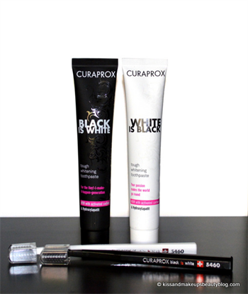 """Curaprox Launches New """"Black is White"""" Toothpaste in US"""